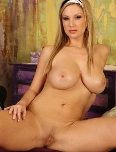 Busty carol goldnerova spreads her pussy lips wide open