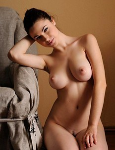 Nude goddess with big boobs