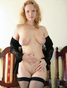 Sweet katya shows her sexy tits